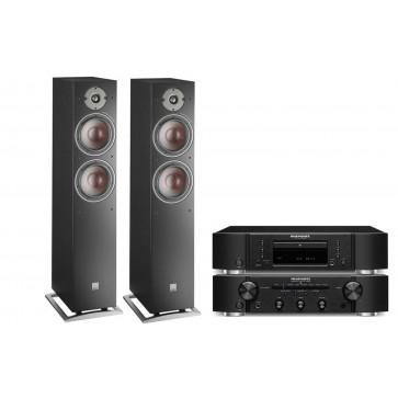 Стереокомплект Marantz CD6006 + Marantz PM6006 + DALI  Oberon 7