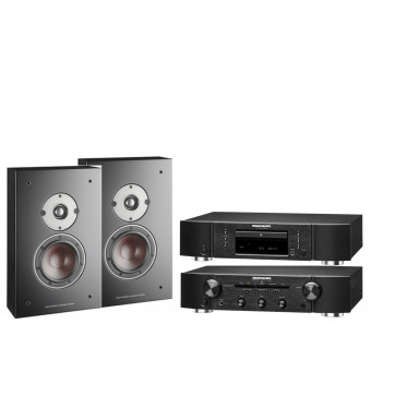 Стереокомплект Marantz CD5005 + Marantz PM5005 + DALI  Oberon ON-WALL