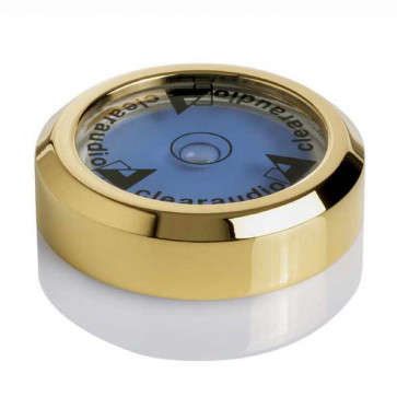 Горизонтальный пузырьково водяной уровень Clearaudio Level Gauge Gold Plated