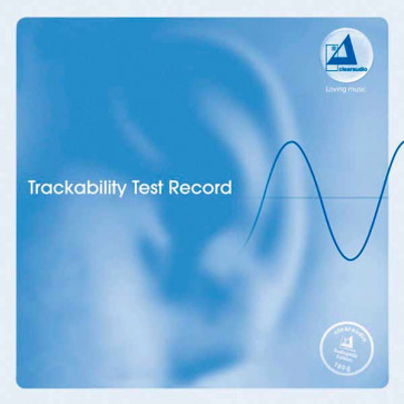 Тестовая грампластинка Clearaudio Trackability Test Record