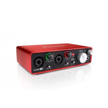 Аудиоинтерфейс Focusrite Scarlett 2i2