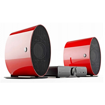 Минисистема HI-FI Musical Fidelity Merlin1 System Red