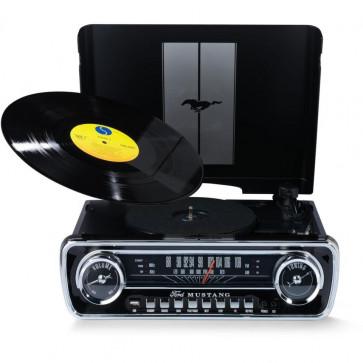 Музыкальный центр ION Mustang LP Black