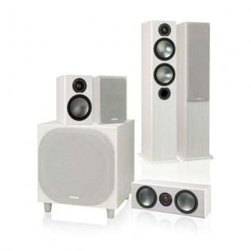 Комплект акустики 5.1 Monitor Audio Bronze B5 AV1 White Ash