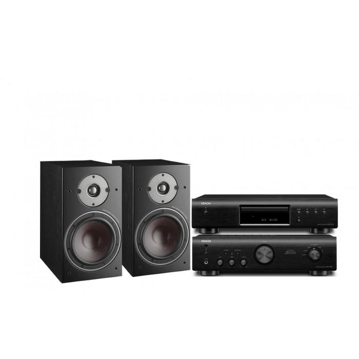 Стереокомплект Denon DCD-520AE + Denon PMA-520AE + DALI  Oberon 3