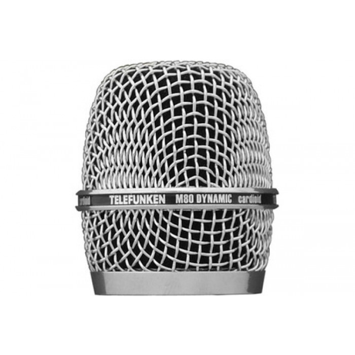 Микрофонный капсюль TELEFUNKEN M80 CHROME head grill HD03-CROM