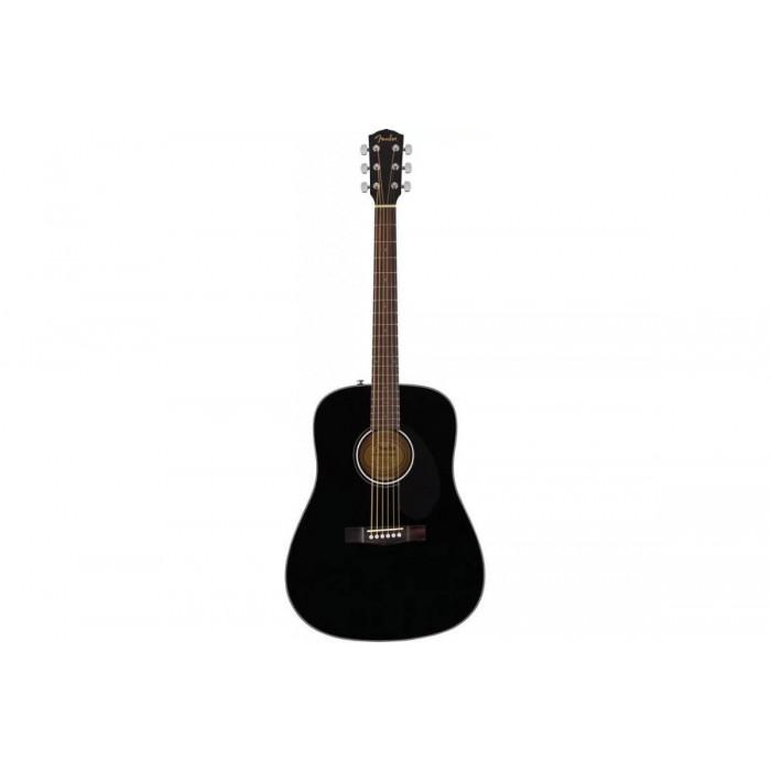Акустическая гитара Fender CD-60S BLACK WN
