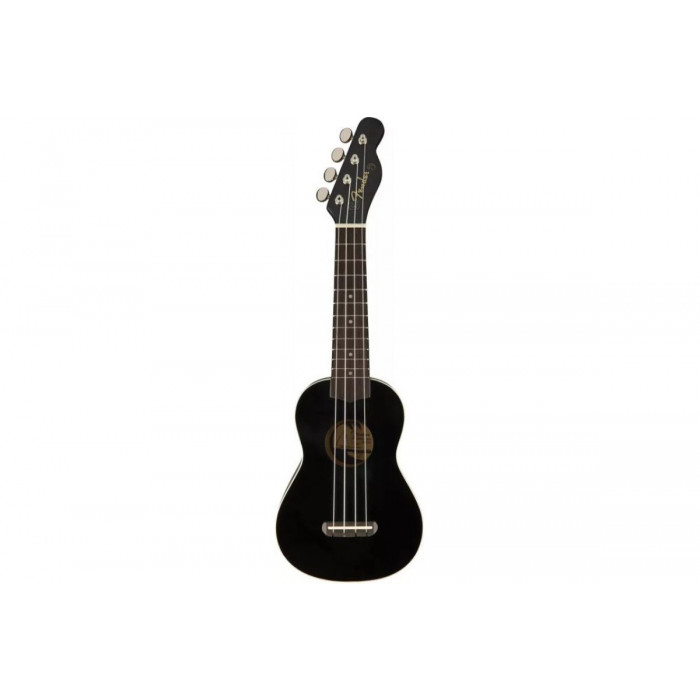 Укулеле Fender UKULELE VENICE SOPRANO BLACK WN