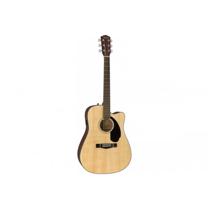 Электроакустическая гитара Fender CD-60SCE WN NATURAL