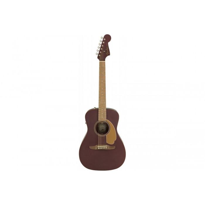 Fender Malibu Player Burgundy Satin