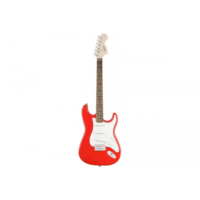 Squier By Fender Affinity Series Stratocaster Lr Race Red