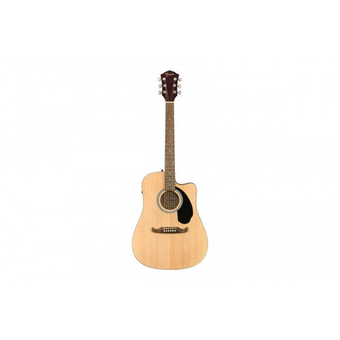 Fender Fa-125Ce Dreadnought Acoustic Natural Wn