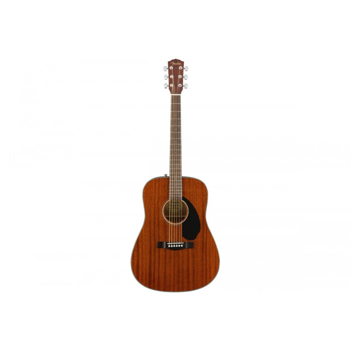 Fender Cd-60S All Mahogany Natural Wn