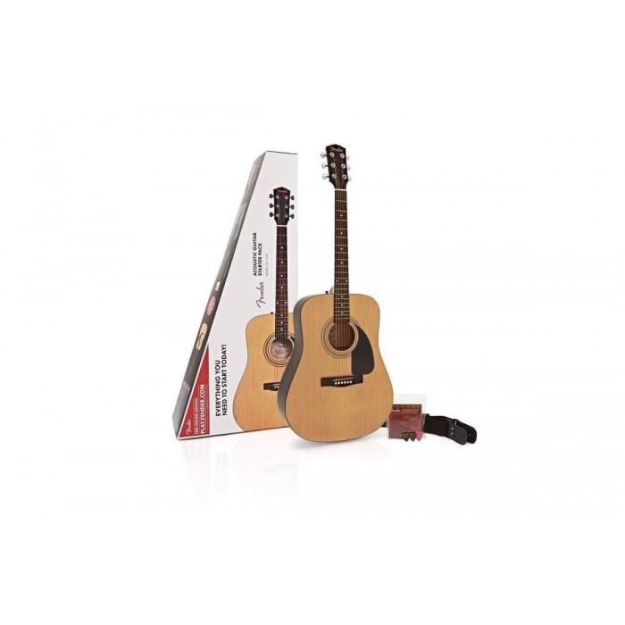 Fender Fa-115 Dreadnaught Pack Natural Wn V2
