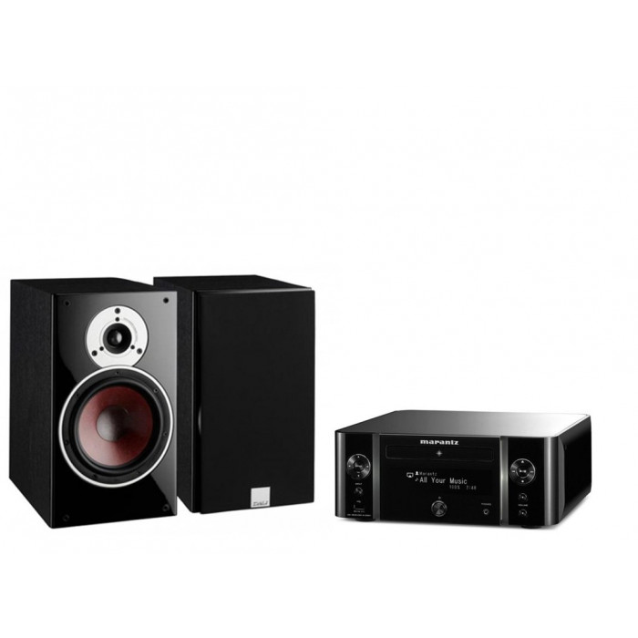 Стереокомплект Marantz M-CR611 Black + DALI  Zensor 3