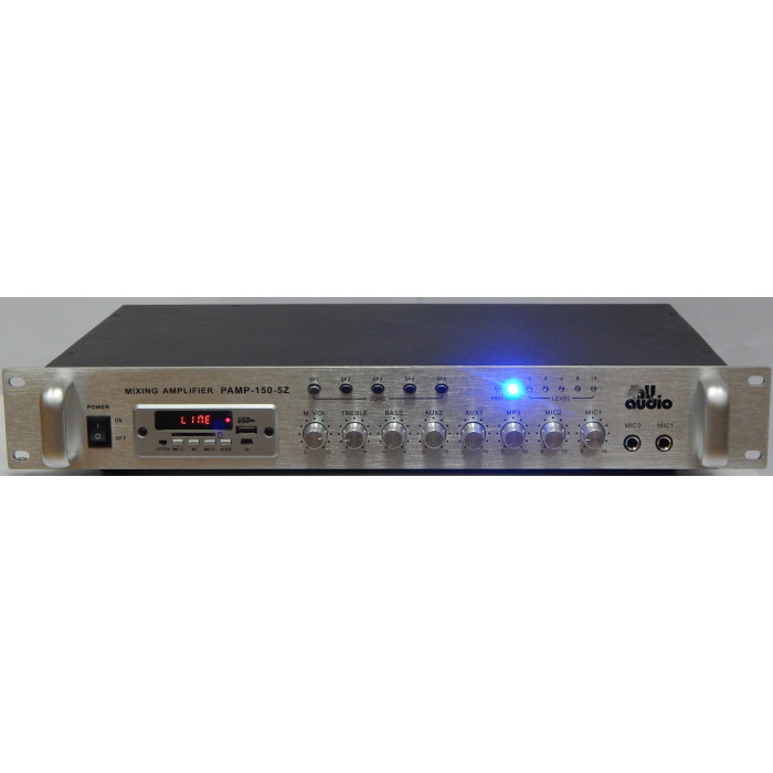 4all Audio PAMP-150-5Z SIlver