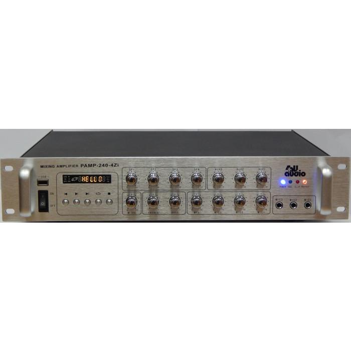 Трансляционный усилитель 4all Audio PAMP-240-4Zi SIlver