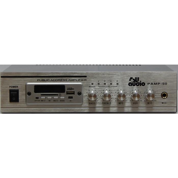 Трансляционный усилитель 4all Audio PAMP-50 SIlver