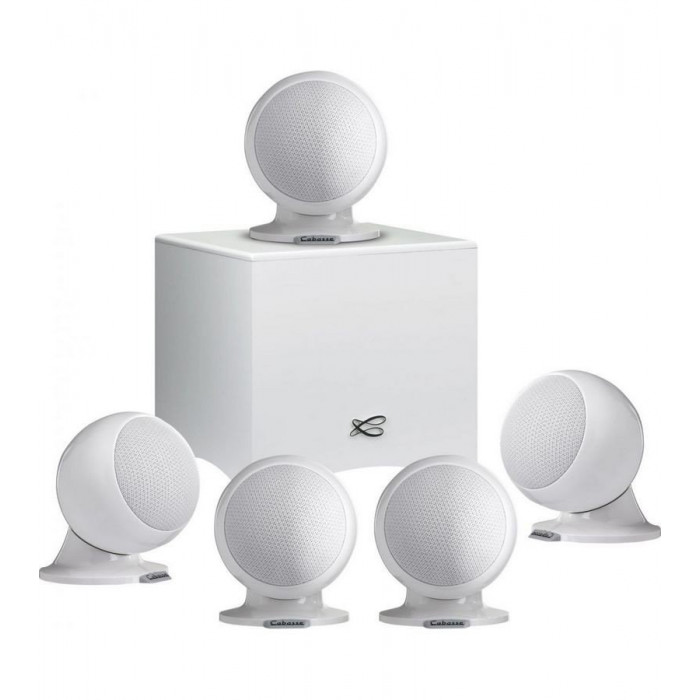 Cabasse Alcyone 2 5.1 system Glossy White