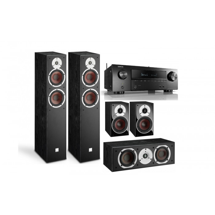 DALI Spektor 6 + Spektor Vokal + Spektor 1 + Denon AVR-X1600H