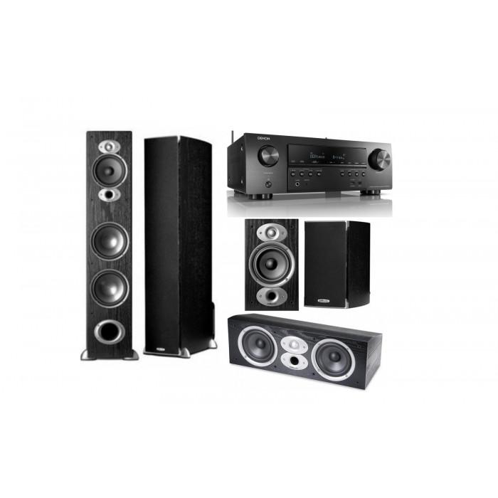 Polk Audio RTi A7 + CSi A 4 + RTi A1 + Denon AVR-S 750H