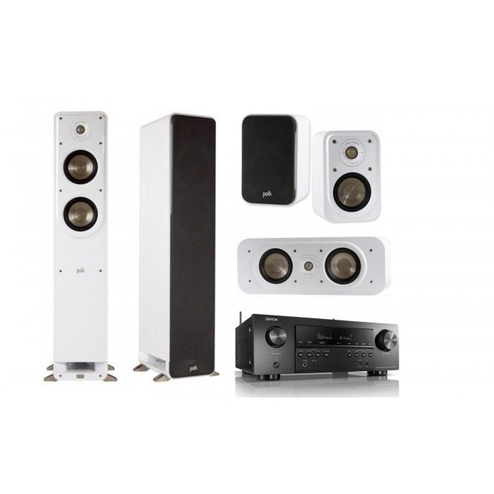 Polk Audio Signature S 50 + Signature S 30 + Signature S 10 + Denon AVR-S 750H