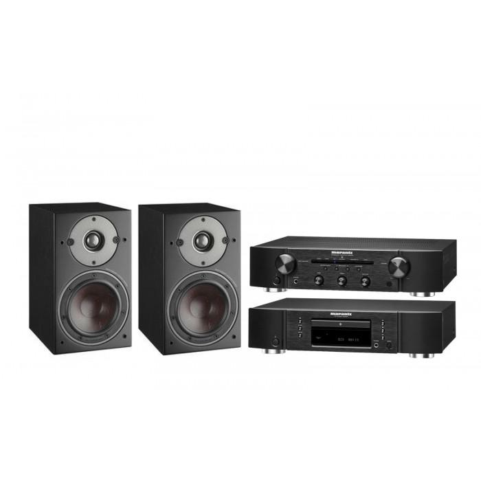 DALI Oberon 1 +Marantz CD5005 + Marantz PM5005