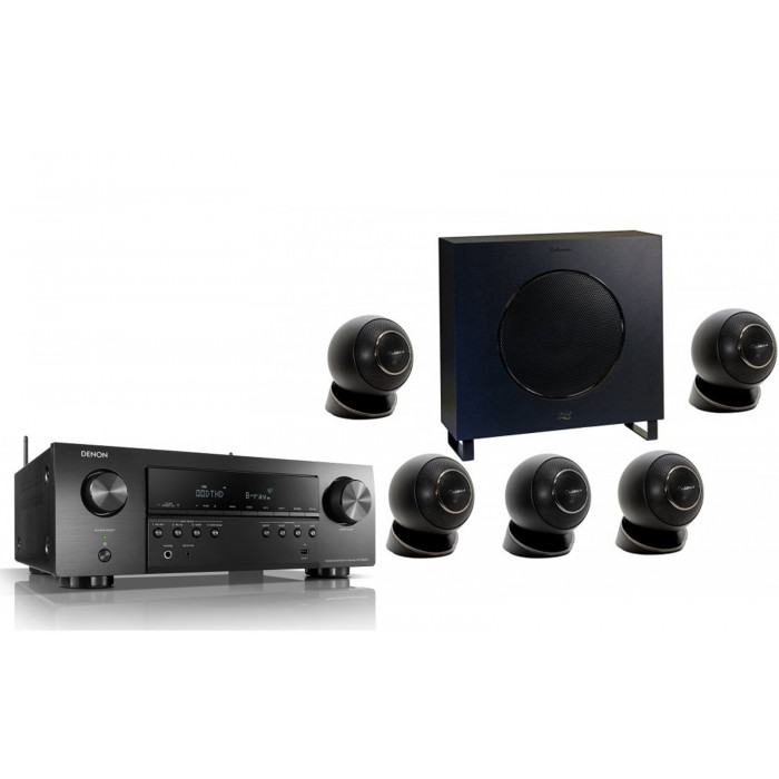 Denon AVR-S 650H + Cabasse Eole 2 5.1 System WS