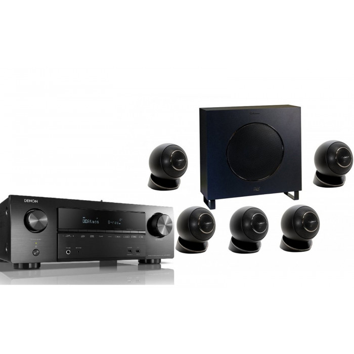 Denon AVR-X1600H + Cabasse Eole 2 5.1 System WS