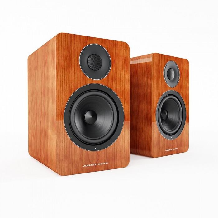 Активная полочная акустика Acoustic Energy AE 1 Active Piano Cherry Veener