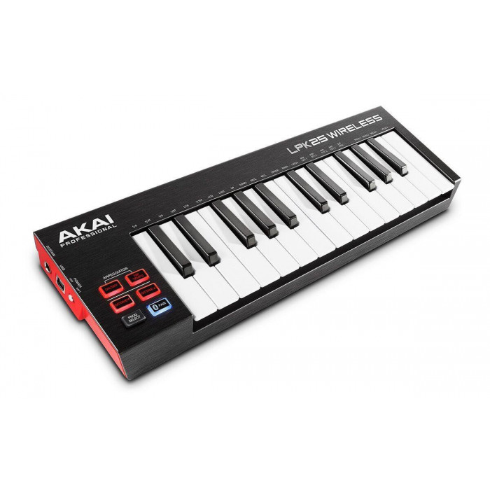 MIDI клавиатура AKAI LPK25 WIRELESS
