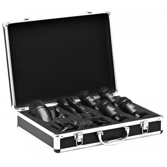 Комплект микрофонов для ударных AKG DRUMSET SESSION 1