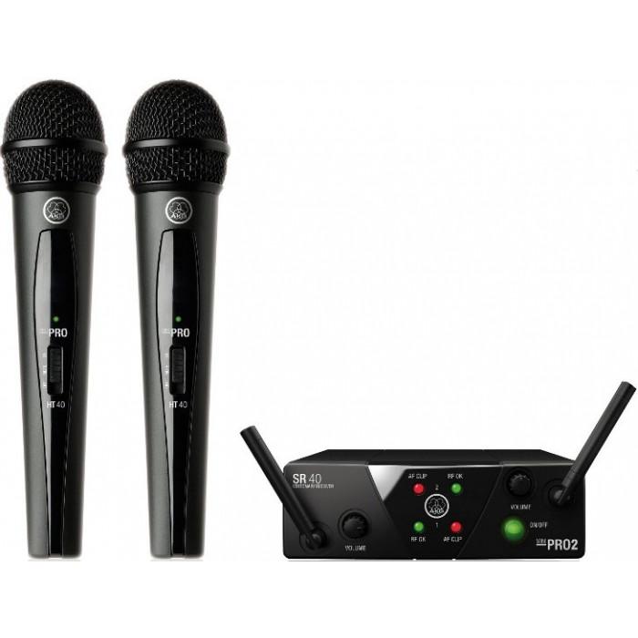 Радиомикрофонная система AKG WMS40 Mini2 Vocal Set BD ISM2/3 EU/US/UK