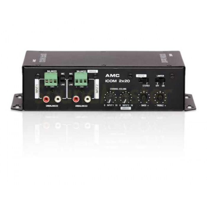 Трансляционный усилитель-микшерAMC iCOM2X20