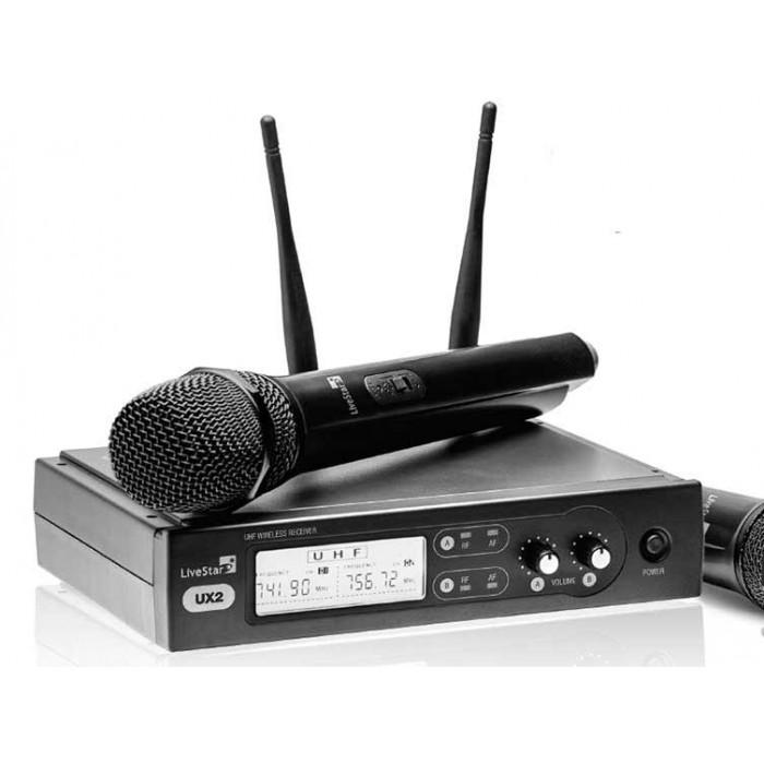 Радиомикрофонная системаAMC UX2