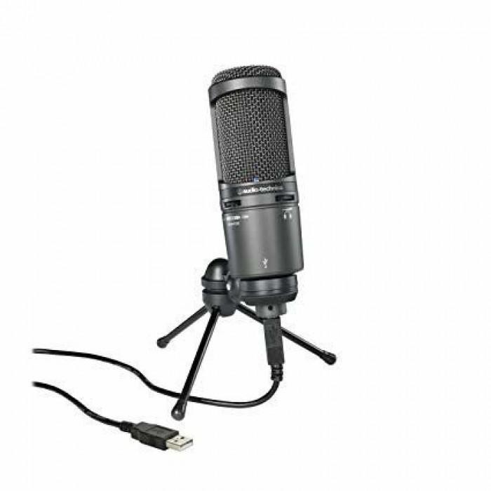 Микрофон студийный Audio-Technica AT2020USB+