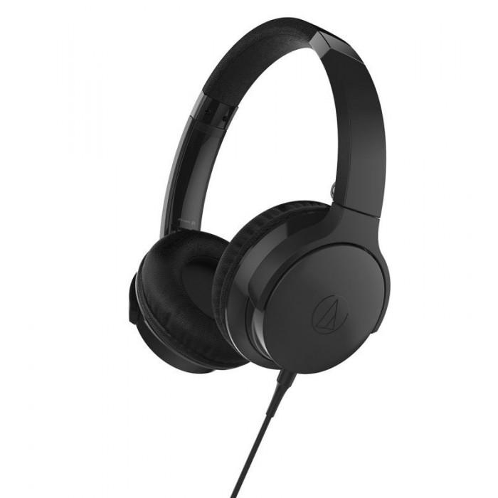 Накладные наушники Audio-Technica ATH-AR3iSBK Black