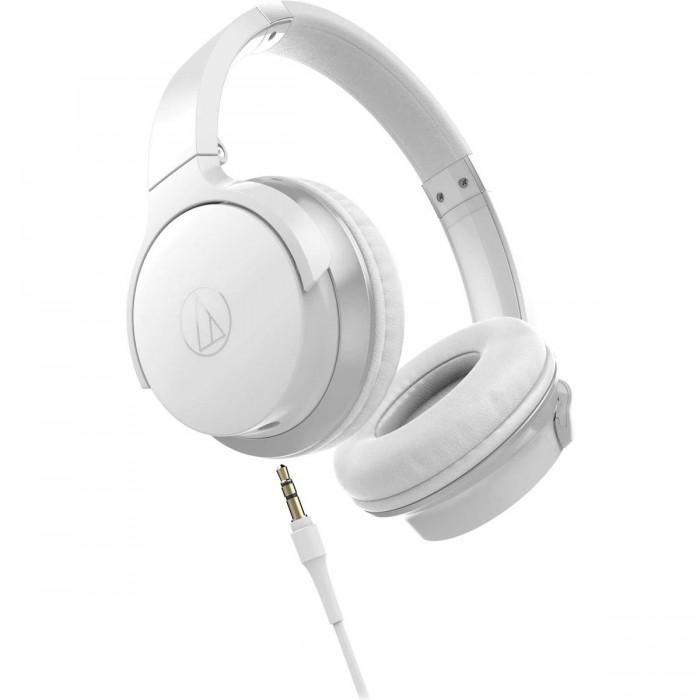 Накладные наушники Audio-Technica ATH-AR3iSWH White