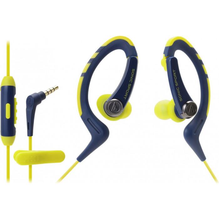 Наушники-вкладыши Audio-Technica ATH-SPORT1NY Navy