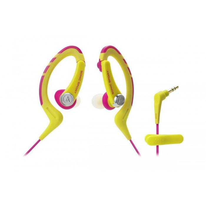 Наушники-вкладыши Audio-Technica ATH-SPORT1PK Pink