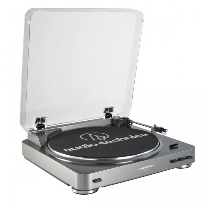 Проигрыватель винила Audio-Technica AT-LP60USB Silver