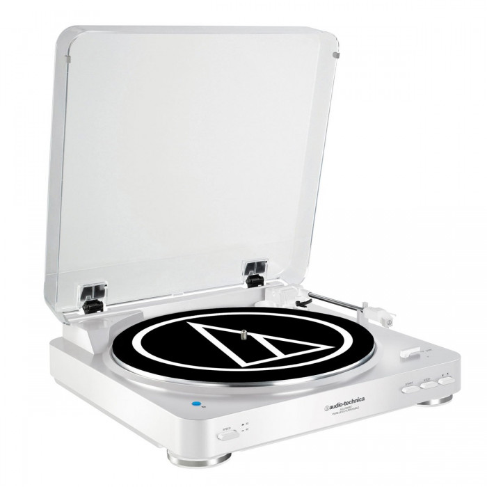 Проигрыватель винила Audio-Technica AT-LP60BT White