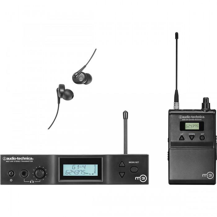 Система ушного мониторинга Audio-Technica M3