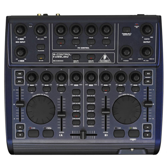 DJ Контроллер Behringer BCD2000