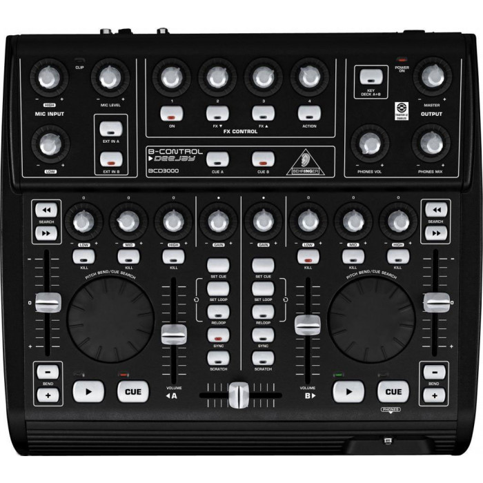 DJ Контроллер Behringer BCD3000