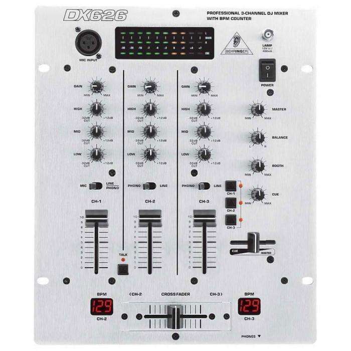 DJ Микшерный пульт Behringer DX626