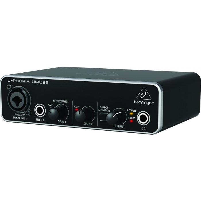Aудиоинтерфейс Behringer UMC22
