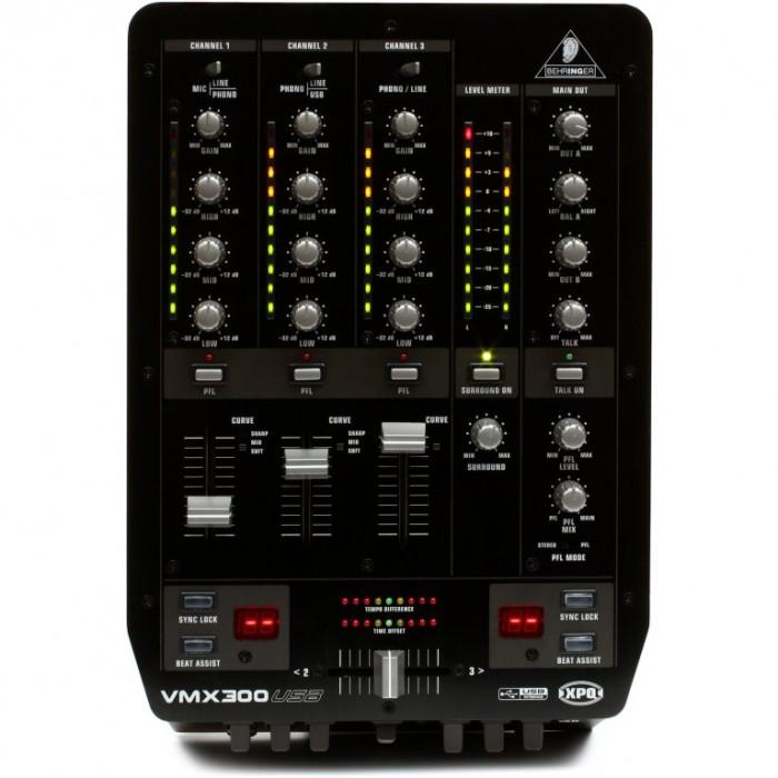 DJ Микшерный пульт Behringer VMX300USB