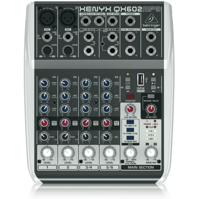 Behringer XENYX QX 602 MP3