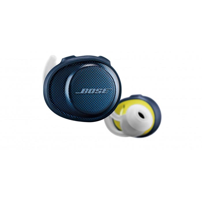 Bose SoundSport Free headphones Blue Yellow